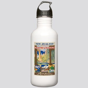 Vintage poster - Chris Stainless Water Bottle 1.0L