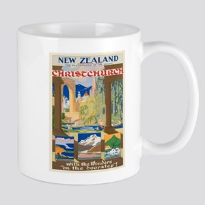 Vintage poster - Christchurch Mugs