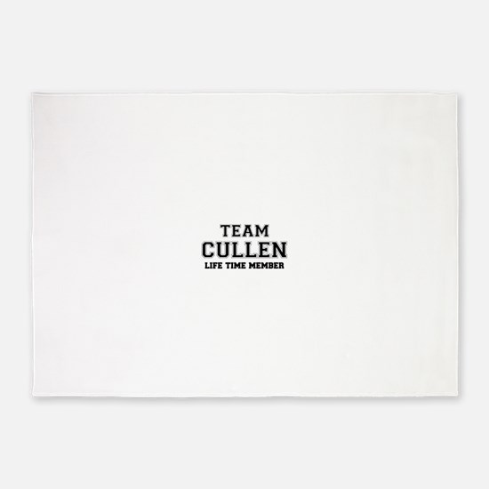 Team CULLEN, life time member 5'x7'Area Rug