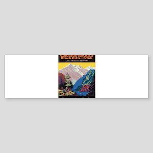 Vintage poster - Colorado Rocky Mou Bumper Sticker