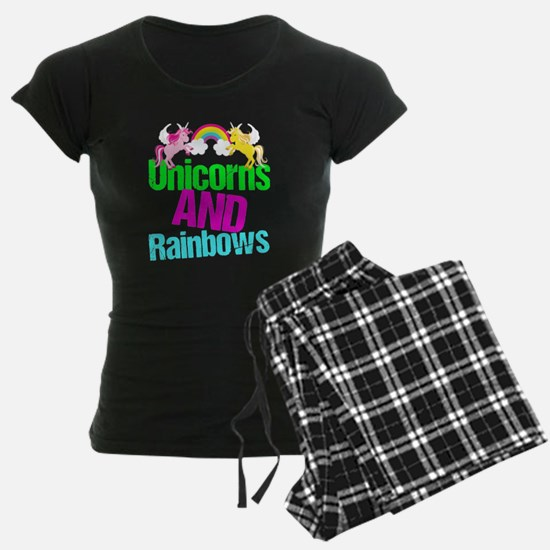 Unicorns Rainbow Cute pajamas