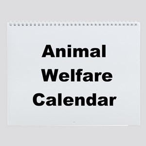 Animal Voice Wall Calendar