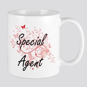 Special Agent Artistic Job Design with Butter Mugs