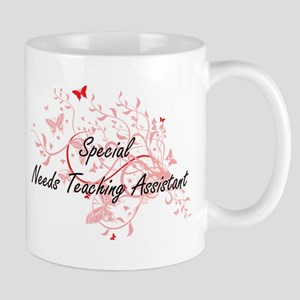 Special Needs Teaching Assistant Artistic Job Mugs