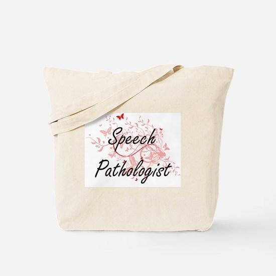 Speech Pathologist Artistic Job Design wi Tote Bag