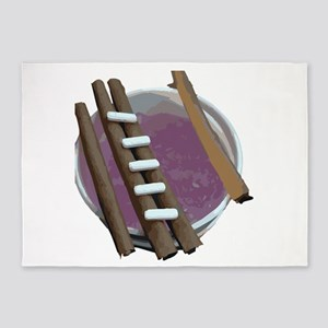 purple cup blunts 5'x7'Area Rug