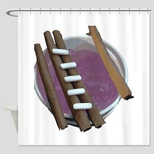 purple cup blunts Shower Curtain