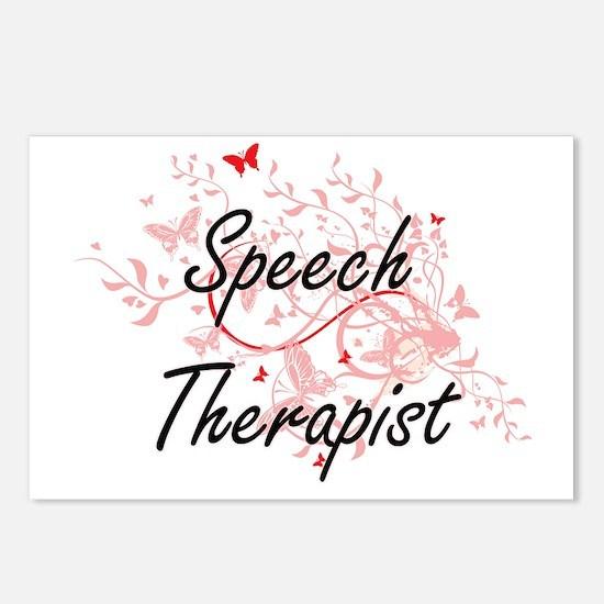 Cute Speech language pathology Postcards (Package of 8)