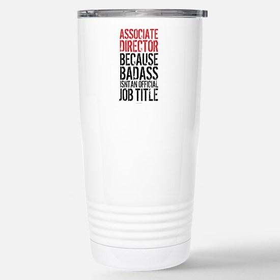 Badass Associate Direct Stainless Steel Travel Mug
