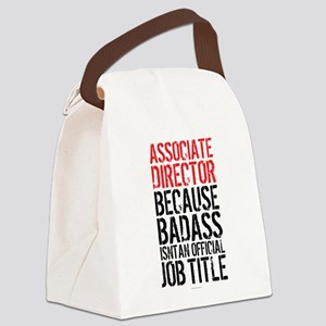 Badass Associate Director Canvas Lunch Bag