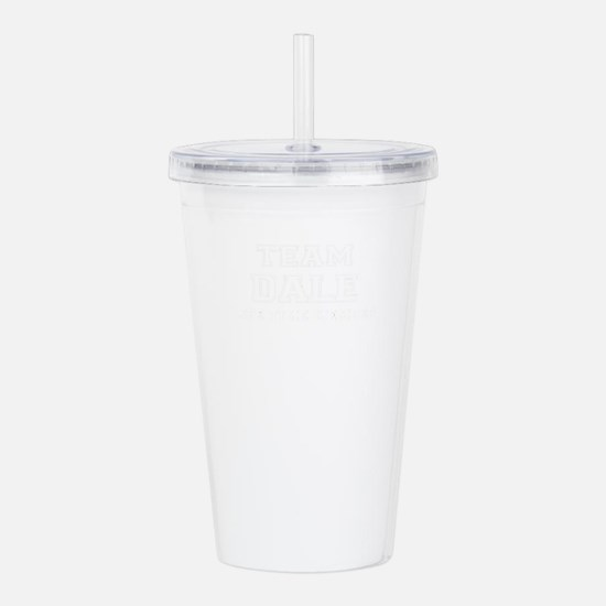 Team DALE, life time m Acrylic Double-wall Tumbler