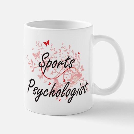 Sports Psychologist Artistic Job Design with Mugs