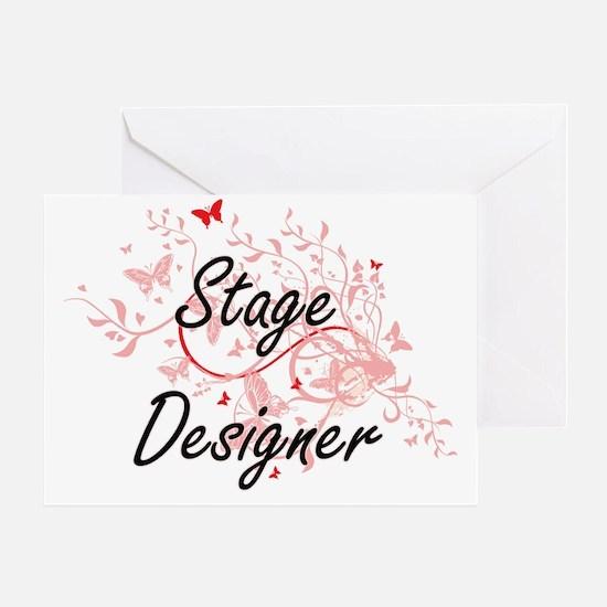 Unique Theatrical lighting design Greeting Card