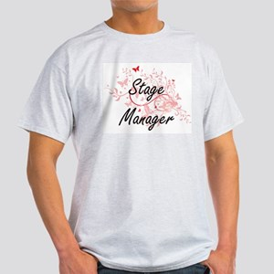 Stage Manager Artistic Job Design with But T-Shirt