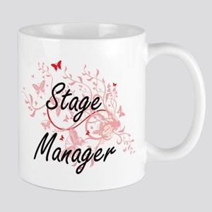 Stage Manager Artistic Job Design with Butter Mugs
