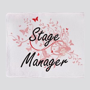 Stage Manager Artistic Job Design wi Throw Blanket