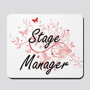 Stage Manager Artistic Job Design with B Mousepad