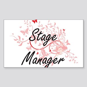 Stage Manager Artistic Job Design with But Sticker