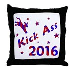 Kick Ass 2016 * Throw Pillow