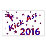 Kick Ass 2016 * Rectangle Sticker