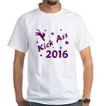 Kick Ass 2016 * White T-Shirt