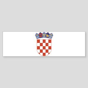 Croatia Arms Bumper Sticker