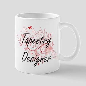 Tapestry Designer Artistic Job Design with Bu Mugs