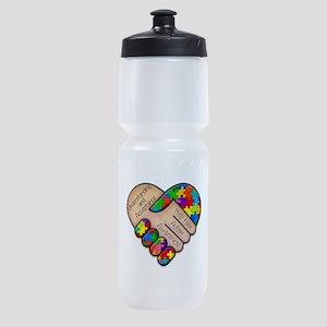 autism awareness Sports Bottle