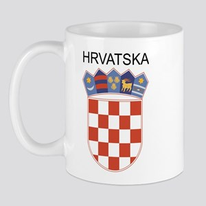 Croatia Arms with Name Mug