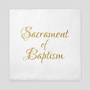Sacrament of Baptism Queen Duvet