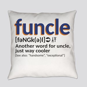 Funcle definition Everyday Pillow