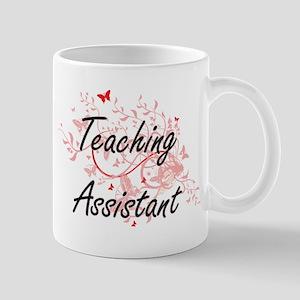Teaching Assistant Artistic Job Design with B Mugs