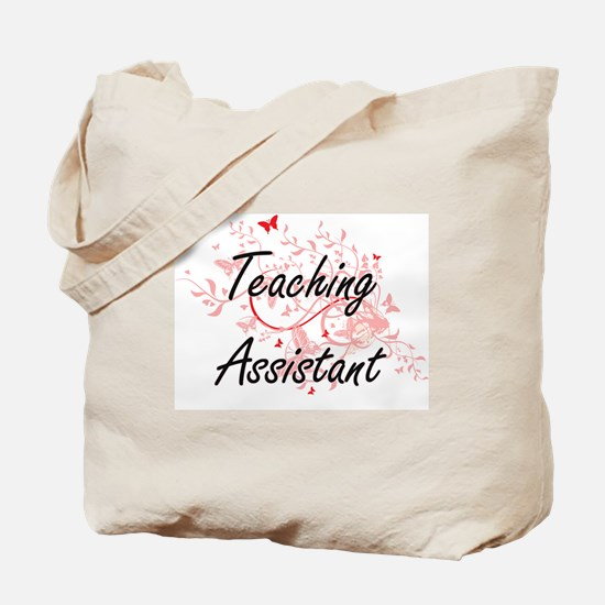 Teaching Assistant Artistic Job Design wi Tote Bag