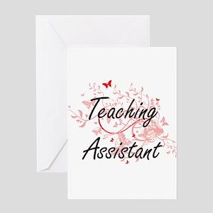 School helper greeting cards cafepress teaching assistant artistic job des greeting cards m4hsunfo