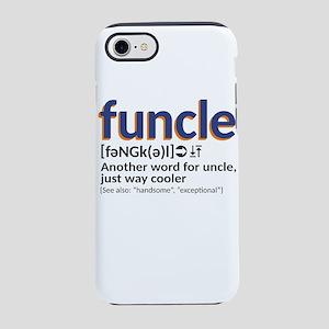 Funcle definition iPhone 8/7 Tough Case