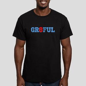 GR8FUL Men's Fitted T-Shirt (dark)