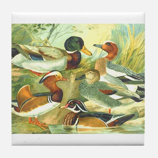 Duck Tile Coaster