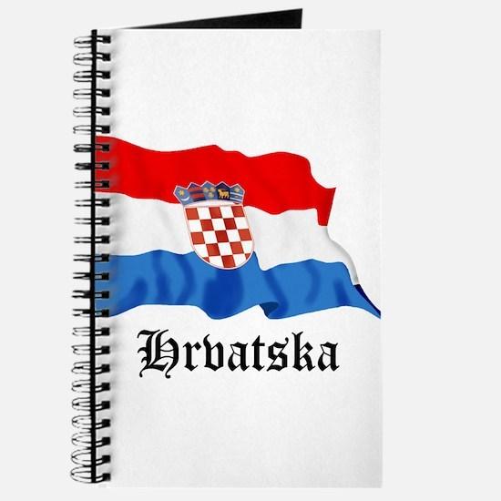 Croatia Flag Journal
