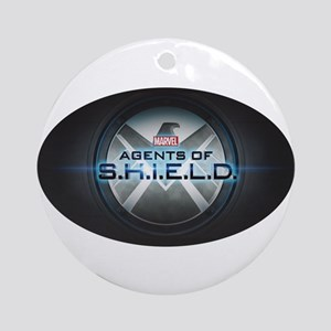 Agents of S.H.I.E.L.D. Title Card Round Ornament