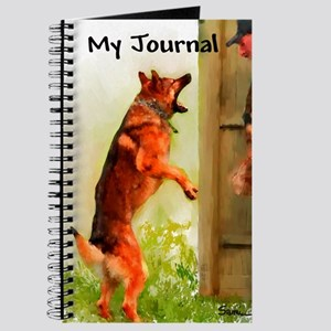 German Shepherd Protect 2 Journal