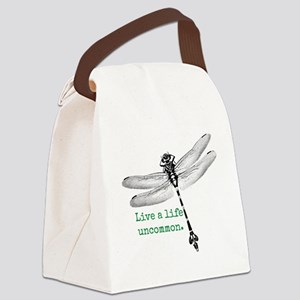Life Uncommon Dragonfly Canvas Lunch Bag