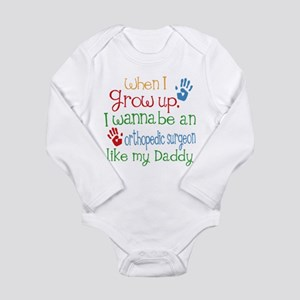Orthopedic Surgeon Lik Long Sleeve Infant Bodysuit