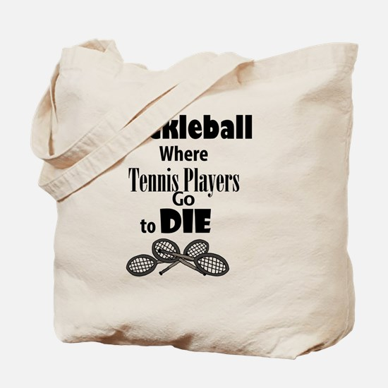 Funny Rackets Tote Bag
