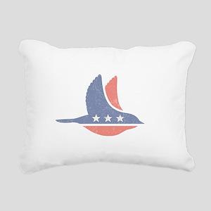 Social Democrat Logo Rectangular Canvas Pillow