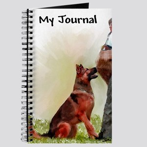 German Shepherd Protect 1 Journal