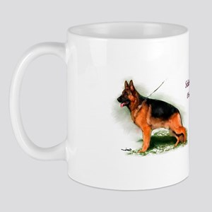 German Shepherd Obedience Sta Mug