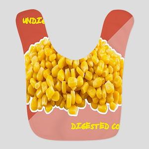 Corn Humor Polyester Baby Bib