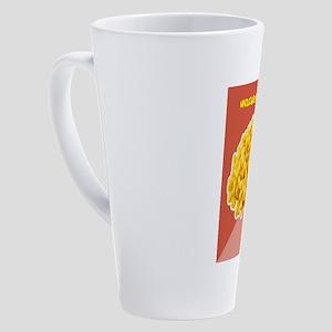 Corn Humor 17 oz Latte Mug
