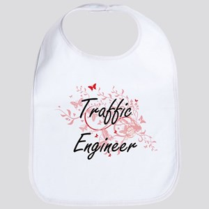 Traffic Engineer Artistic Job Design with Butt Bib