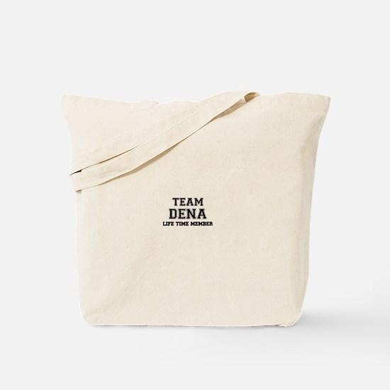 Team DENA, life time member Tote Bag